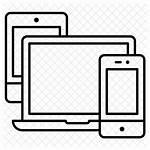 Laptop Icon Vectorified Triazs