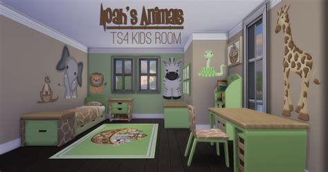 my sims 4 noah 39 s animals bedroom add ons and 100 acre wood map by jorghahaq