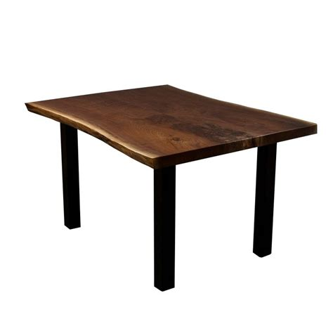 live edge black walnut dining table hand crafted stern live edge black walnut dining kitchen