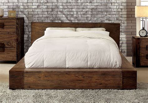 Janeiro Bedroom Modern Bold Low Profile Queen Bed Frame