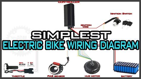 Simplest Electric Bike Wiring Diagram Youtube