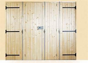 Porte De Garage Pliante À La Française 4 Vantaux : porte de garage bois 4 vantaux prom th e sothoferm ~ Nature-et-papiers.com Idées de Décoration