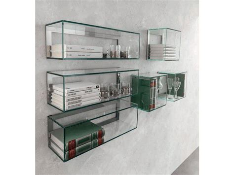 mensole vetro mensola in vetro