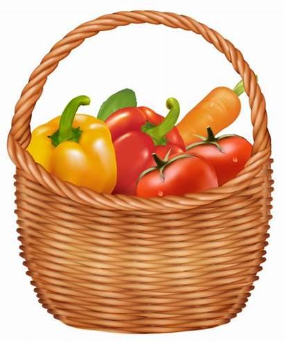 Basket Vegetables Clipart Vegetable Fruits Clip Fruit