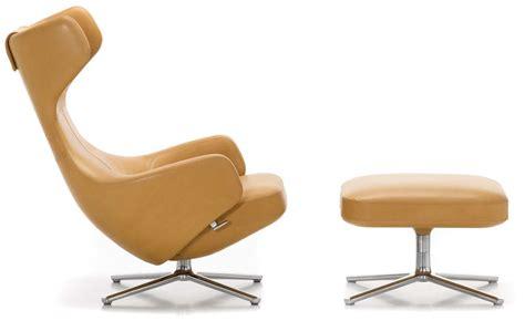 grand repos lounge chair ottoman hivemodern