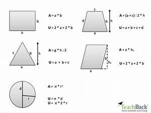 Flächeninhalt Quadrat Seitenlänge Berechnen : formelsammlung f r geometrie teachback ~ Themetempest.com Abrechnung