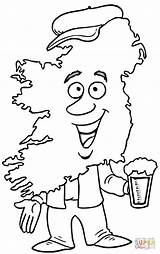 Coloring Pages Irish Ireland Map Harp Printable Colouring Adults Drawing Maps Getcolorings Celtic Europe Supercoloring Playing Getdrawings Popular sketch template
