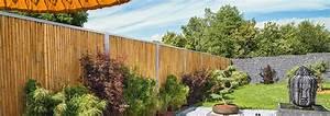 Bambus Edelstahl Sichtschutz : die bambusbasis bambuszaun mit edelstahl ~ Markanthonyermac.com Haus und Dekorationen