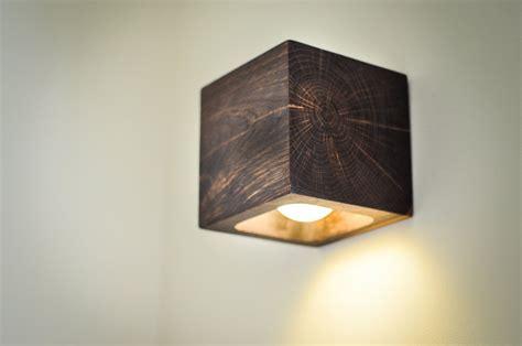 wooden wall l cube 6 handmade dark brown bog oak wall