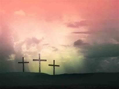 Cross Jesus Christ Wallpapers Landscape Sunset Px
