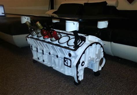 Jaguar V12 Coffee Table » Funny, Bizarre, Amazing Pictures