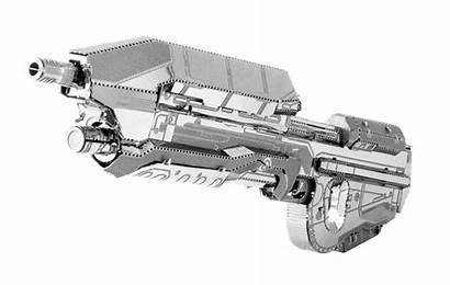 Assault Rifle Halo Metal Earth Fascinations Diy