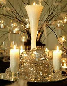 best wedding ideas: Gold Wedding Centerpieces