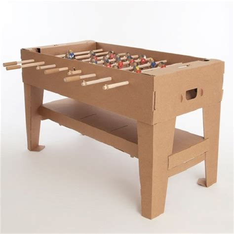 make cardboard foosball table squee wednesday do you prefer wooden bow ties over