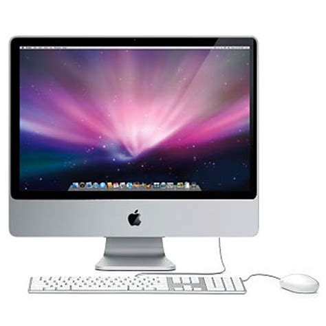 ordinateur apple de bureau apple imac 24 quot 3 06 ghz achat pc multimedia sur materiel net