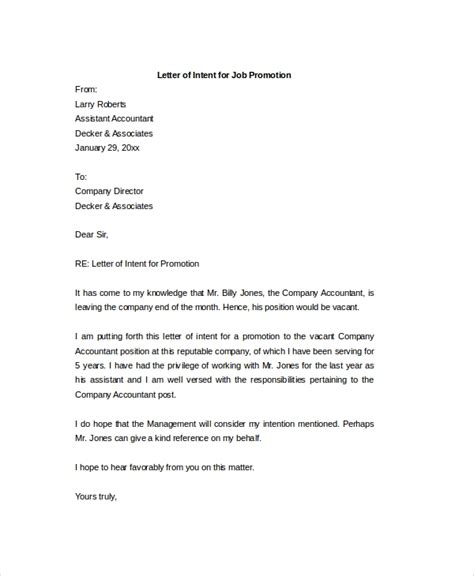 letter  intent world