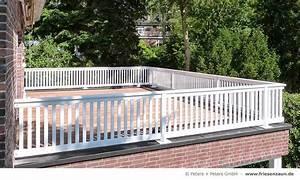 Geländer Holz Terrasse : balkongel nder wei wetterfest 25 jahre garantie balkon terrasse balkongel nder balkon ~ Watch28wear.com Haus und Dekorationen
