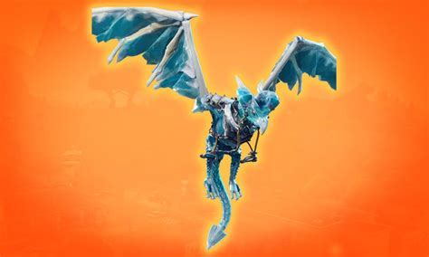 frostwing fortnite glider legendary ice dragon