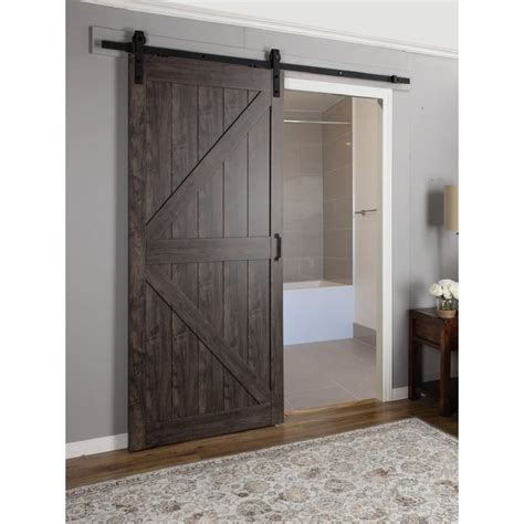 Interior Barn Doors For Homes by Erias Home Designs Continental Mdf Engineered Wood 1 Panel