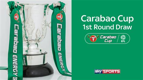 Carabao Cup Draw : When Is The Carabao Cup Third Round ...