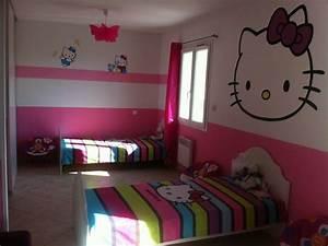 Chambre Hello Kitty : notre top 6 d 39 exemples de d corations chambre hello kitty ~ Voncanada.com Idées de Décoration