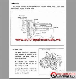 Hyundai Diesel Engine D4a  D4d  D6a  D6b Workshop Manual