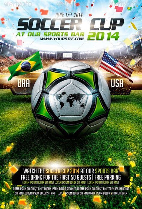 brazil soccer cup  flyer template httpwwwffflyer