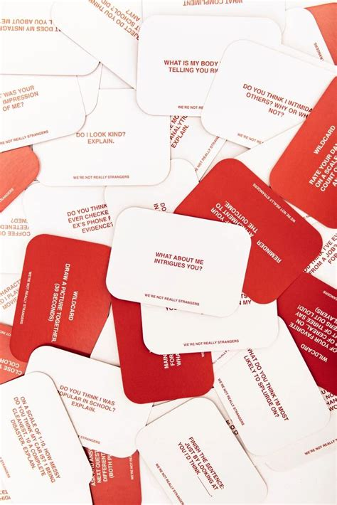 strangers card game card games