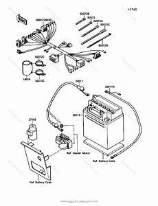 Kawasaki Atv 1991 Oem Parts Diagram For Electrical