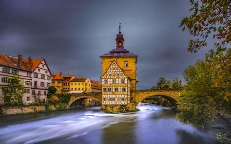 bamberg   city  northern bavaria germany landscape