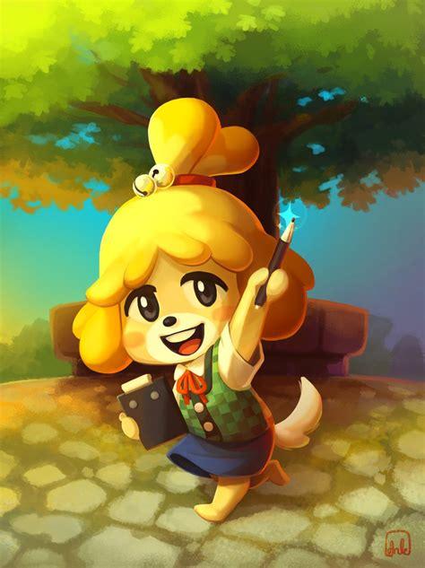 Isabelle Animal Crossing Wallpaper - isabelle by dranka on deviantart