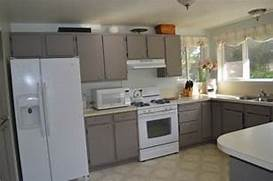 Painted Kitchen Cabinets Before And After Grey by Painted Cabinets Fabulously Finished