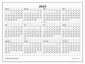 Almanacka år 2019 takvim kalender HD