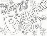Pioneer Coloring Pages Happy Printables sketch template