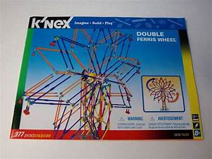Micro  Knex Instruction Manual Only  13076 Double Ferris