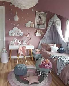 Ideen Kinderzimmer Mädchen : 20 tolle ideen wie sie ein einhorn kinderzimmer f r ~ Lizthompson.info Haus und Dekorationen