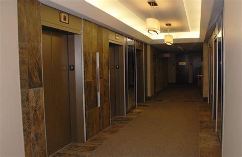 elevator lobby  corporate centre