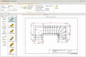 Technische Zeichnung Programm Kostenlos : software trepedia treppenplaner ~ Watch28wear.com Haus und Dekorationen