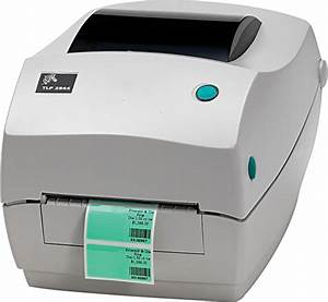 zebra tlp2844 2844 barcode label thermal printer network port With label maker software for zebra printers