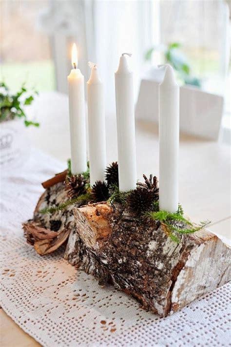 holz deko selber machen weihnachten 106 atemberaubende adventskranz ideen archzine net