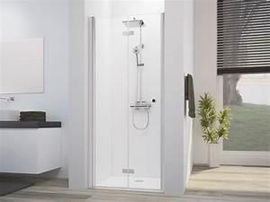 Duschkabine 175 Cm Hoch : drehfaltt r duscht r h he 175 cm duschabtrennung ~ Michelbontemps.com Haus und Dekorationen