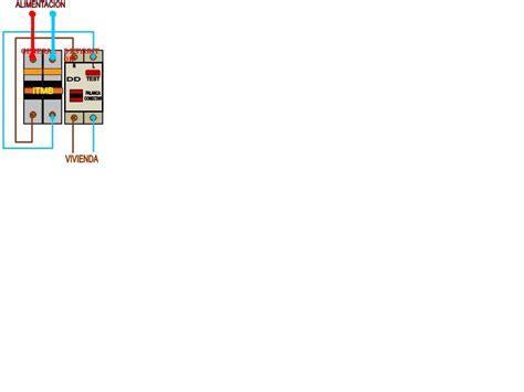 solucionado conexi 243 n interruptor y un diferencial yoreparo