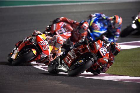 Road racing world championship season. MotoGP Qatar 2019: Highlights and race report