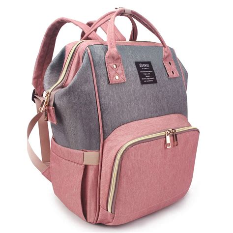 qimiaobaby bag nappy bag travel backpack waterproof multi function bag for baby