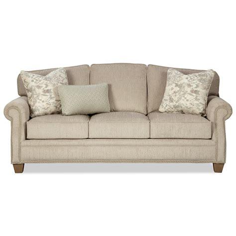 Craftmaster Sleeper Sofa by Craftmaster 787850 Transitional Sofa With Nailheads And