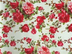 vintage rose wallpaper wallmayacom With markise balkon mit rosen tapete vintage