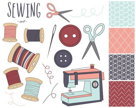 Vintage Sewing Machine Clip Art (55