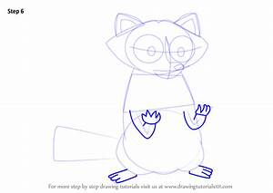 Learn How to Draw Raccoon from Steven Universe (Steven ...