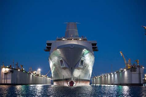 Future USS Portland (LPD 27) Launches > Naval Sea Systems ...