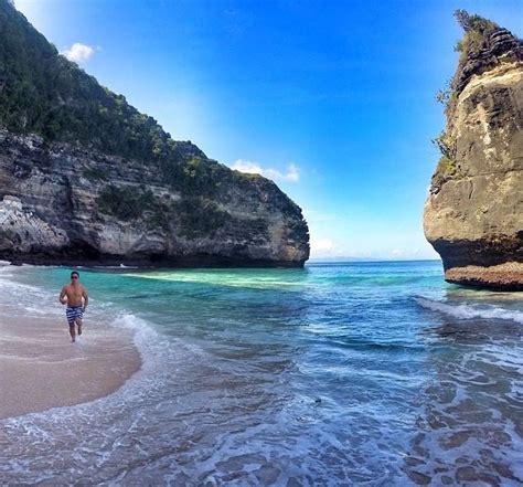pantai suwehan suwehan beach nusa penida objek wisata
